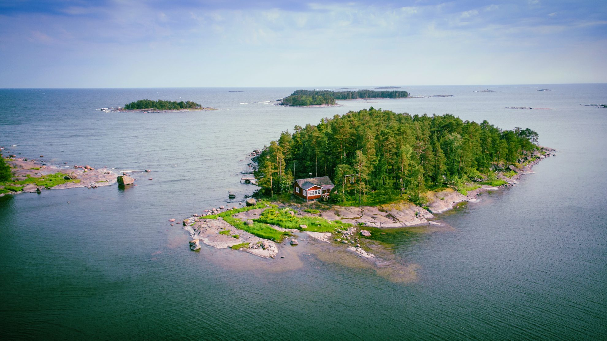 Finnland - Schären - Archipel Foto: Juha Kalaoja